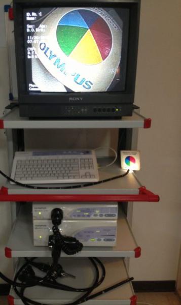 ویدئو آندوسکوپ المپوس (Olympus) کارکرده