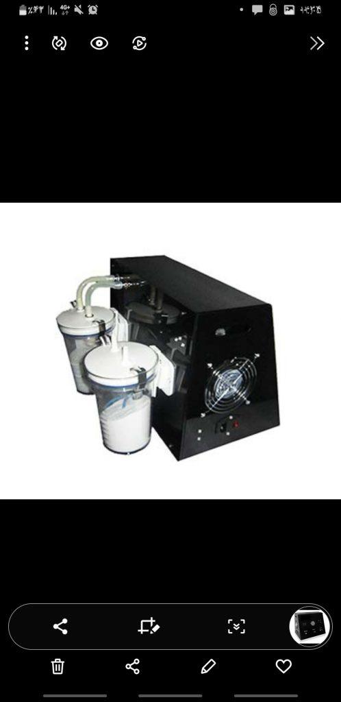 میکرودرم ابریژن الماسی با ترالی شیشه ای ودستگاه هیدرودرمی و بخور دولول مکس