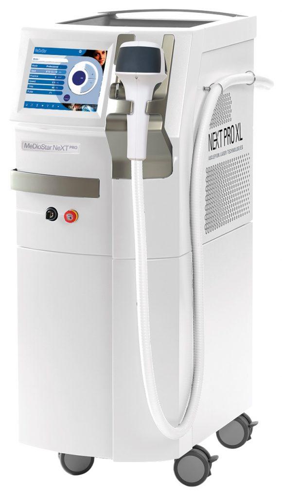 دستگاه لیزر رفع موهای زائد Asclepion  مدل Mediostar NextPRO XL کمپانی  ZIESS آلمان