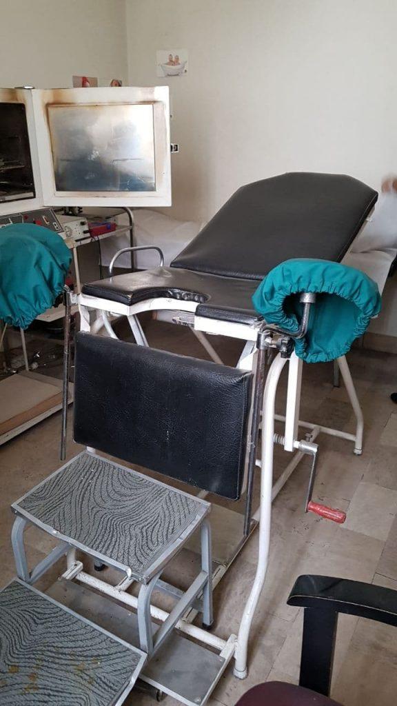 تخت معاینه زنان(ژینوکولوژی)