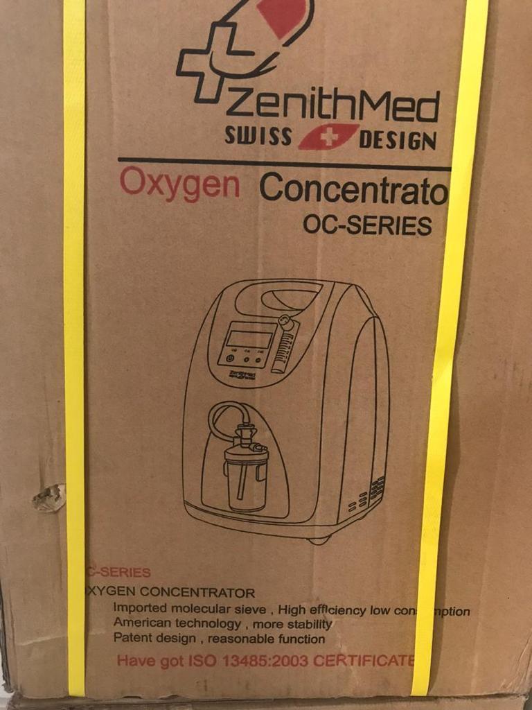 اکسیژن ساز ۵ لیتری زنیت مد سوئیسی