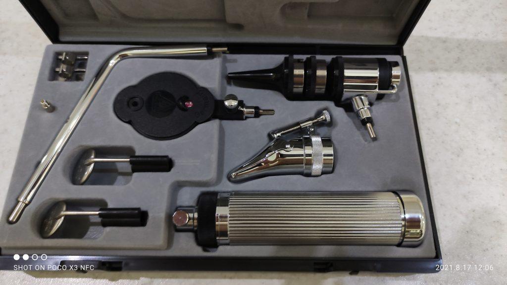 فروش ست اتوسکوپ و افتالموسکوپ