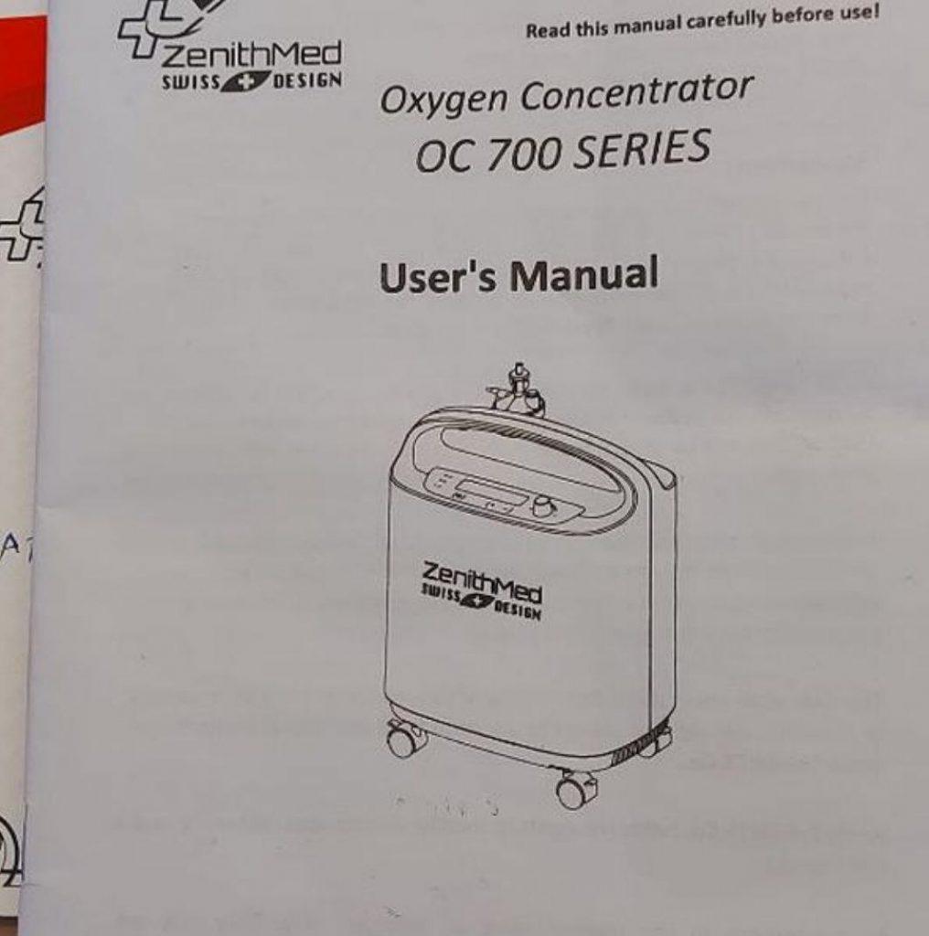 دستگاه اکسیژن ساز برند سوییسی